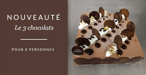 Le 3 chocolats pour 8 personnes