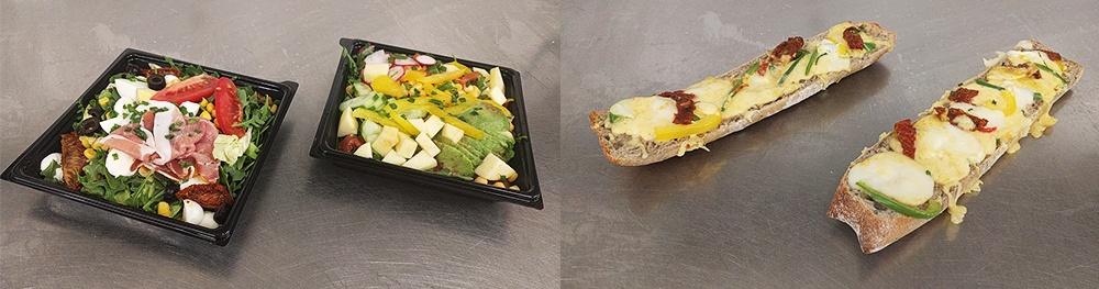 Sandwichs et salades