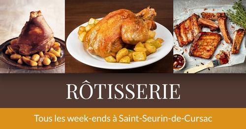 Rôtisserie à Saint-Seurin-de-Cursac