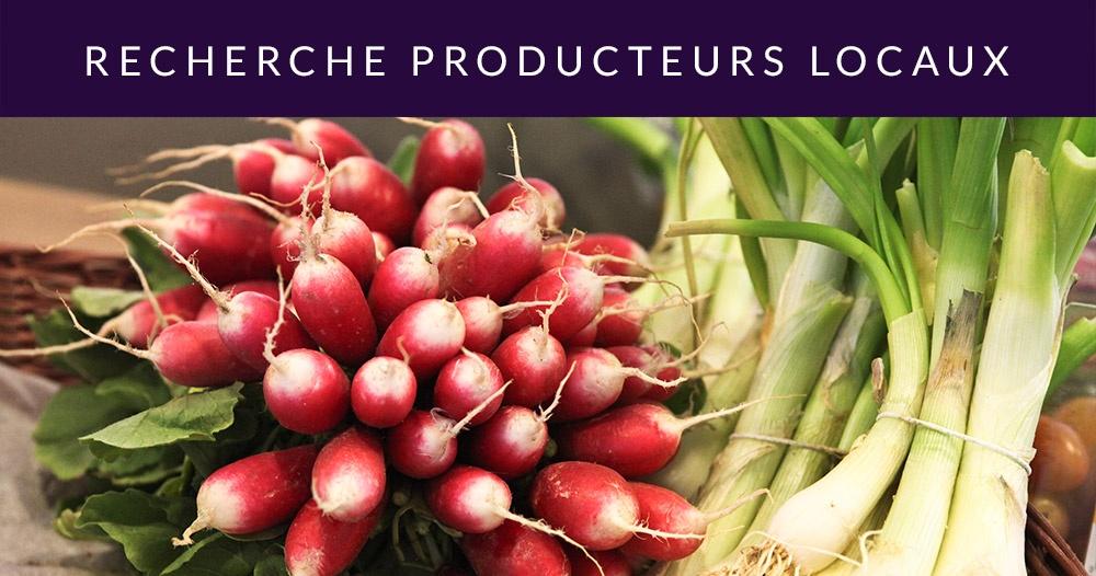 Recherche producteurs locaux